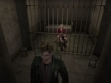 Silent Hill 2 Video Game Review Jail Scene