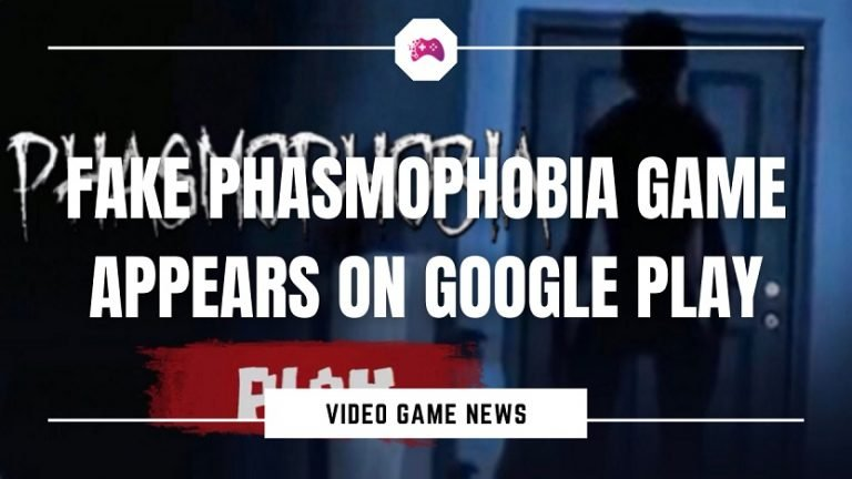 Fake Phasmophobia Game Appears On Google Play Cover