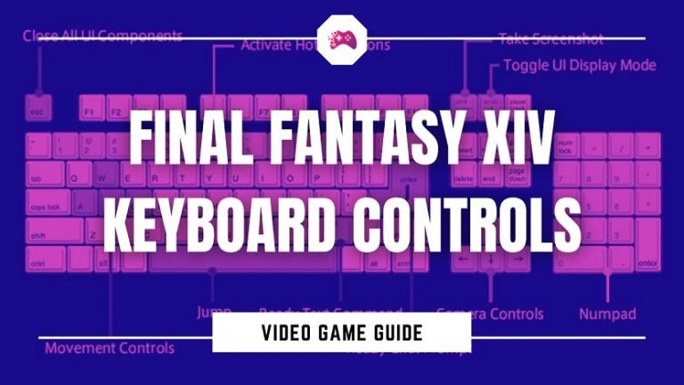 Final Fantasy XIV Keyboard Controls