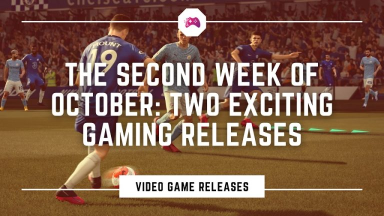 Games Coming Out 2nd Week of October
