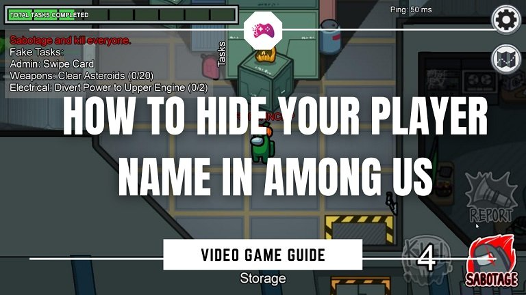 How to Hide Your Player Name in Among Us