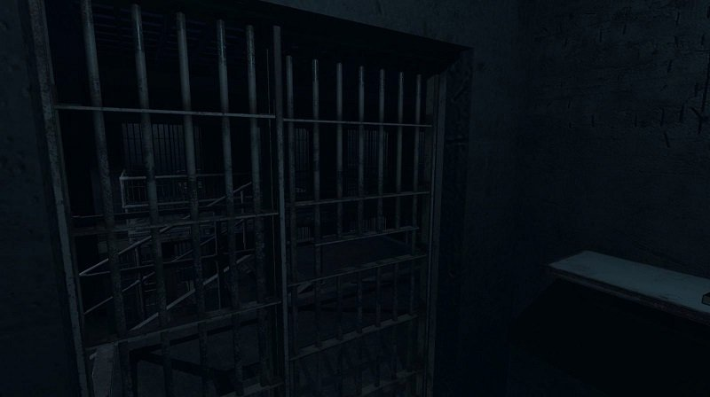 Phasmophobia Prison Level Cell Block