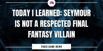 Today I Learned Seymour Is Not A Respected Final Fantasy Villain