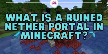 What Is A Ruined Nether Portal In Minecraft