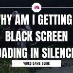 Why Am I Getting A Black Screen Loading In Silence