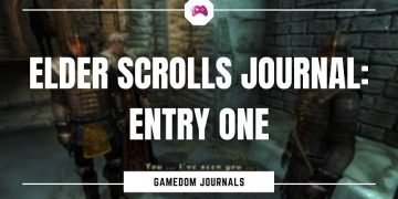 Elder Scrolls Journal Entry One