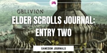 Elder Scrolls Journal Entry Two