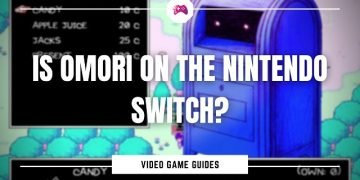 Is Omori On The Nintendo Switch