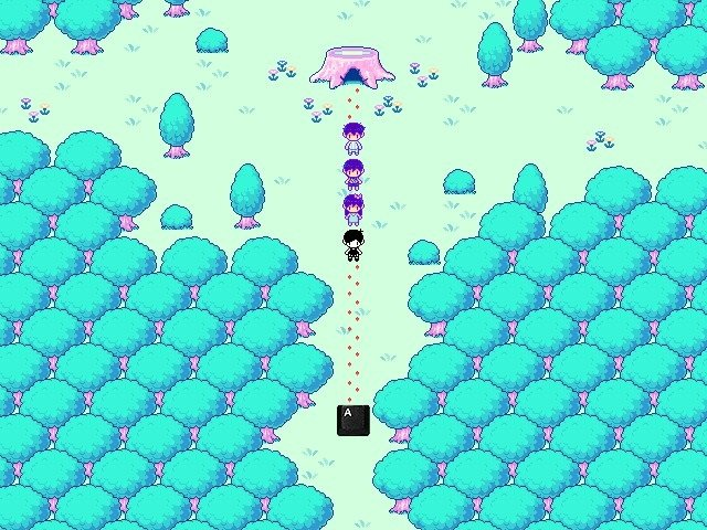 Omori Video Game Back in Park Trailing 006