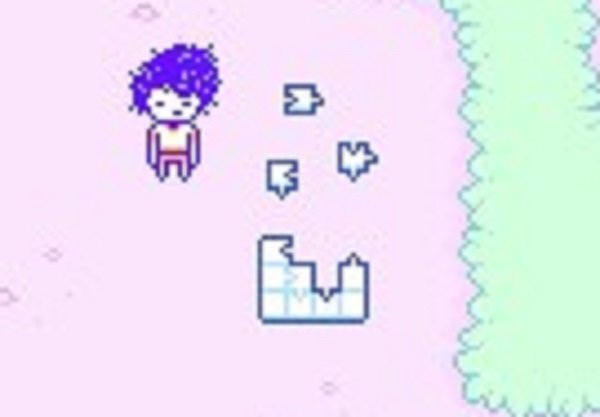 Omori Video Game Flower Empty Puzzle
