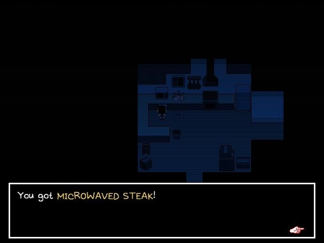 Omori Video Game Microwave Steak 014