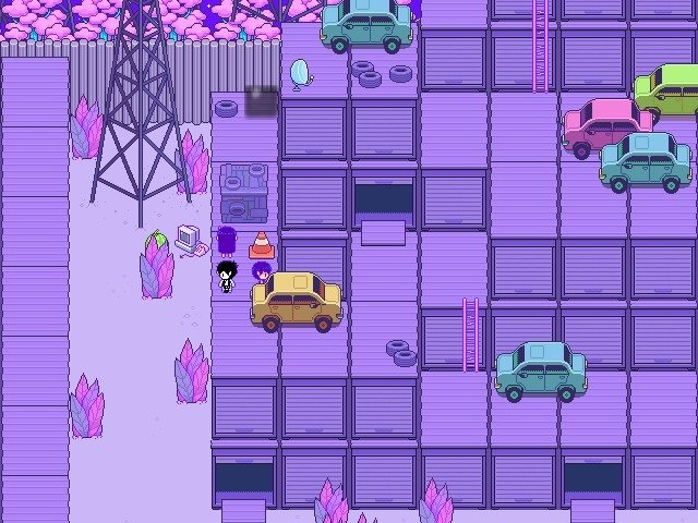 Omori Video Game More Exploring Containers 007