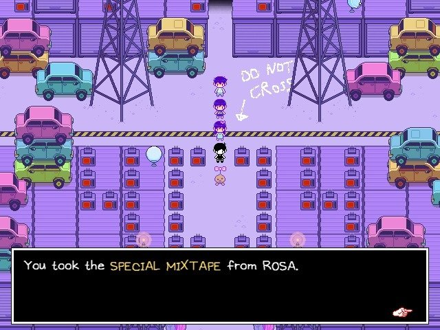 Omori Video Game Took The Special Mixtape From Rosa 015
