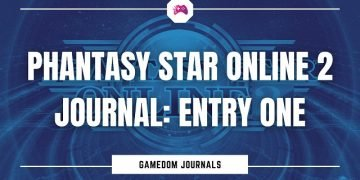 Phantasy Star Online 2 Journal Entry One
