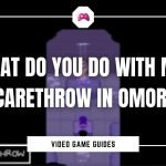 What Do You Do With Mr. Scarethrow In Omori