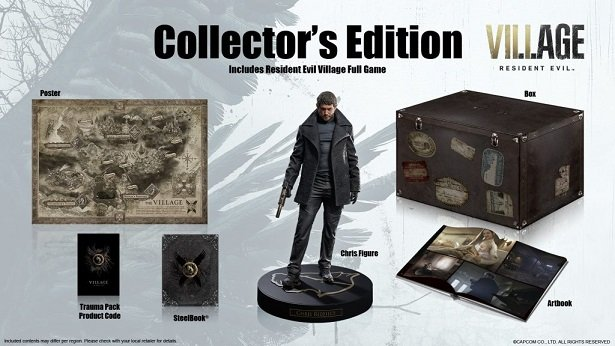 Announcement Collectors Edition Of Resident Evil Village
