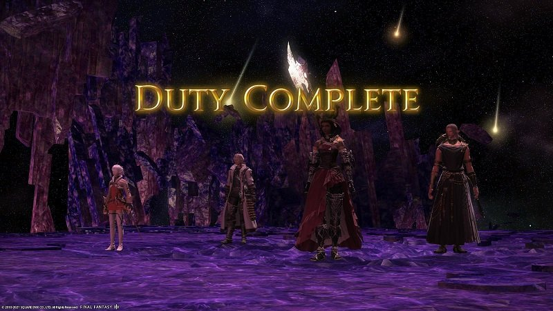 Final Fantasy XIV 5 Gameplay Duty Complete