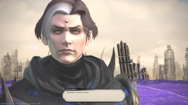 Final Fantasy XIV 5 Gameplay Emet-Selch Remember That We Once Lived