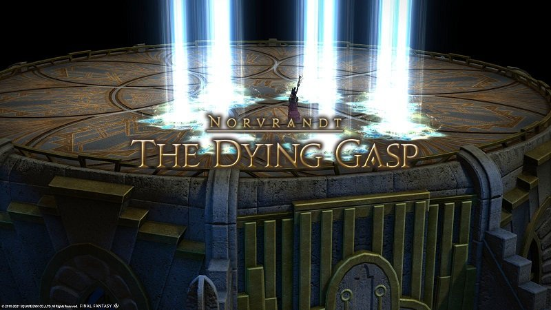 Final Fantasy XIV 5 Gameplay Novrandt The Dying Gasp