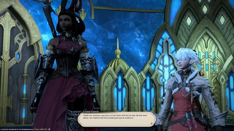 Final Fantasy XIV Game - Crystal Exarch Unlike me however you have curried favor with fae folk