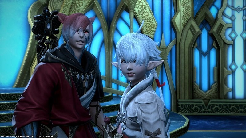 Final Fantasy XIV Game - Crystal Exarch assaulted