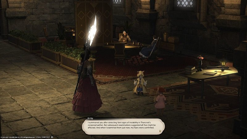 Final Fantasy XIV Game - Krille I Summoned You after detecting faint signs of instability