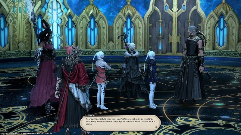 Final Fantasy XIV Game - Urianger We would need only to ensure our souls safe preservation