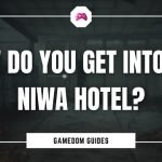How Do You Get Into The Niwa Hotel