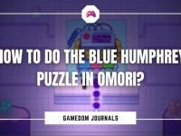 How To Do The Blue Humphrey Puzzle In Omori