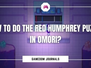 How To Do The Red Humphrey Puzzle In Omori