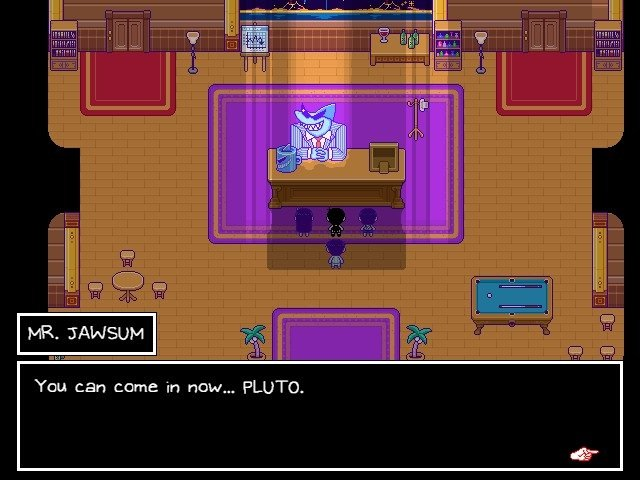 Omori Boss Game Guide - Mr Jawsum You Can Come In Now PLUTO