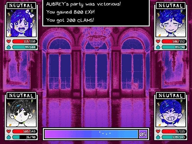 Omori Boss Guide Aubrey Party Was Victorious