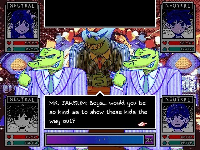 Omori Game Boss Guide Mr Jawsum Boys Would You Be So Kind As To Show These Kids The Way Out