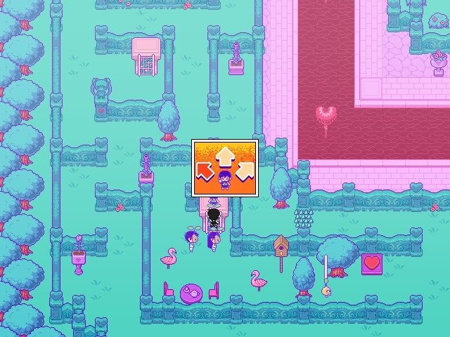 Omori Game Guide Aim To The Right To Melon