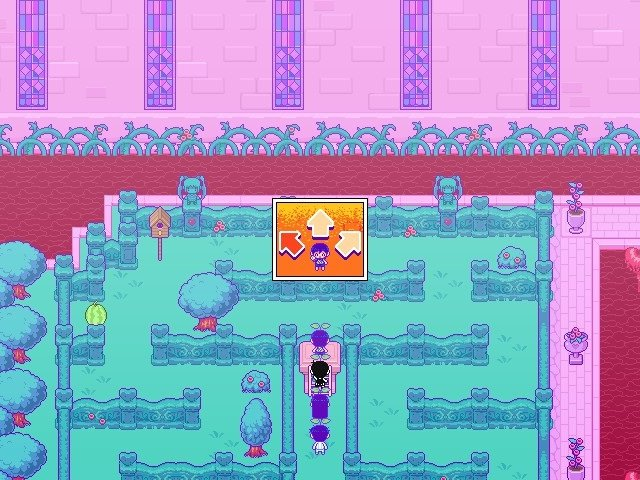 Omori Game Guide Aiming Projectile In Different Directions