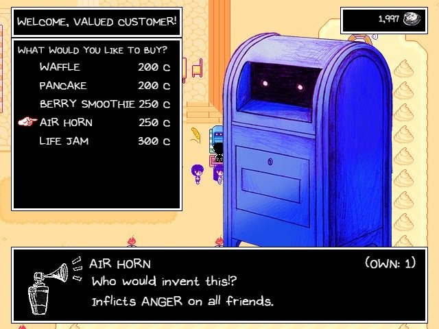 Omori Game Guide Air Horn Inflicts Anger On All Friends