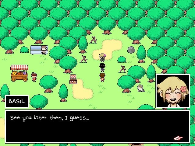 Omori Game Guide Basil See You Later Then