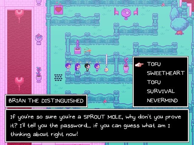 Omori Game Guide Brian The Distinguished Prove You Are A Sprout Mole