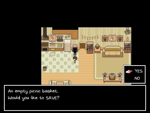 Omori Game Guide En Empty Basket Would You Like To Save