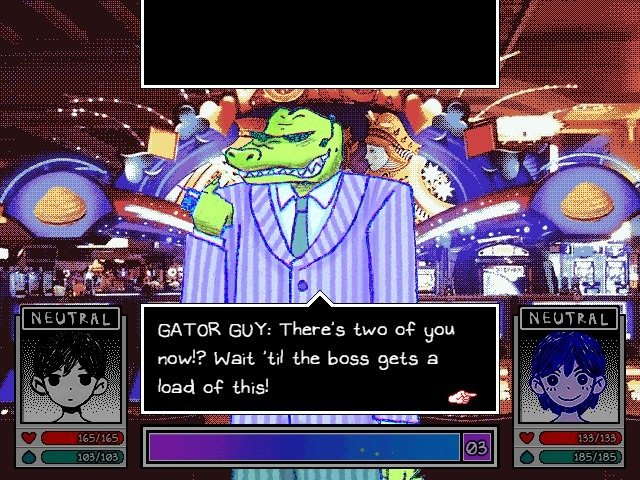 Omori Game Guide Gator Guy Wait Till The Boss Gets A Load Of This
