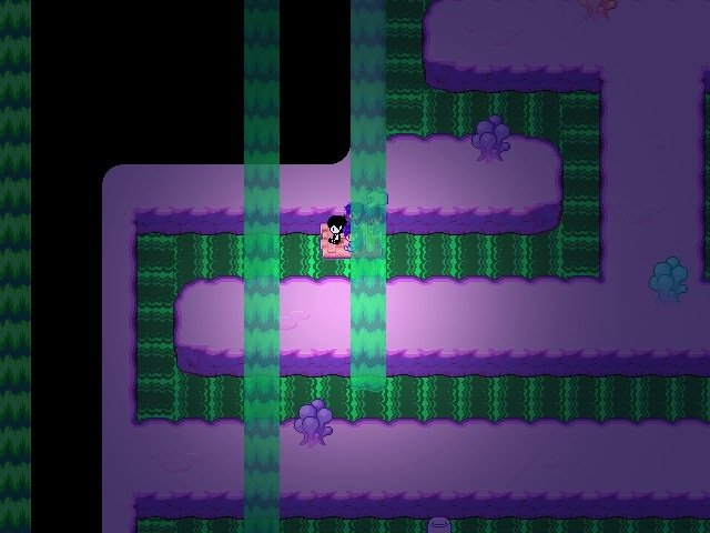 Omori Game Guide - Going through a waterfall puzzle