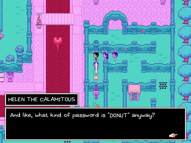 Omori Game Guide Helen The Calamitous Password Is Donut