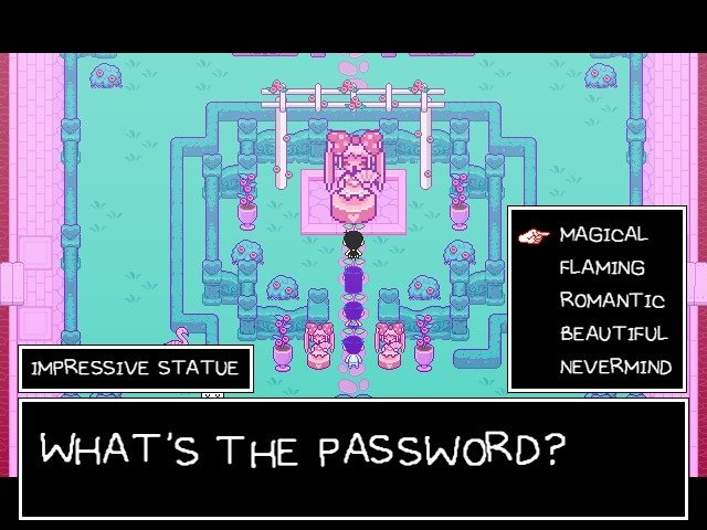 Omori Game Guide Impressive Statue What Is The Password