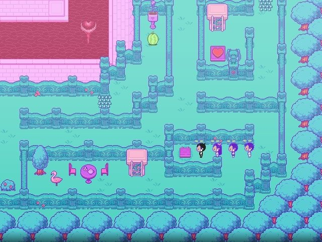 Omori Game Guide Indent Turned Into Something Purple