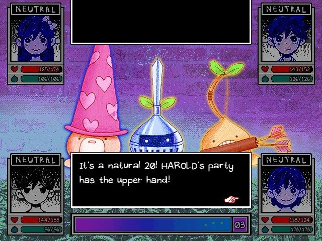 Omori Game Guide It Is A Natural 20 Harolds Party