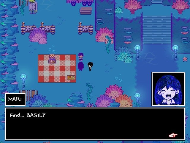 Omori Game Guide Mari Find Basil