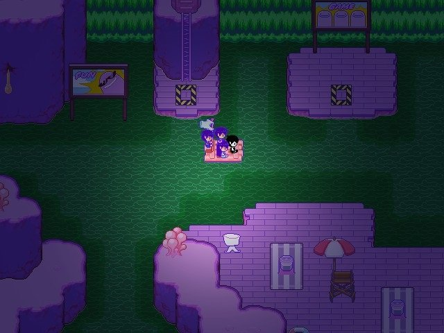 Omori Game Guide - Moving east on the river