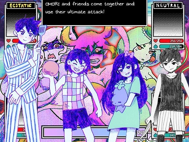 Omori Game Guide - Omori And Friends Come Together And Use Their Ultimate Attack