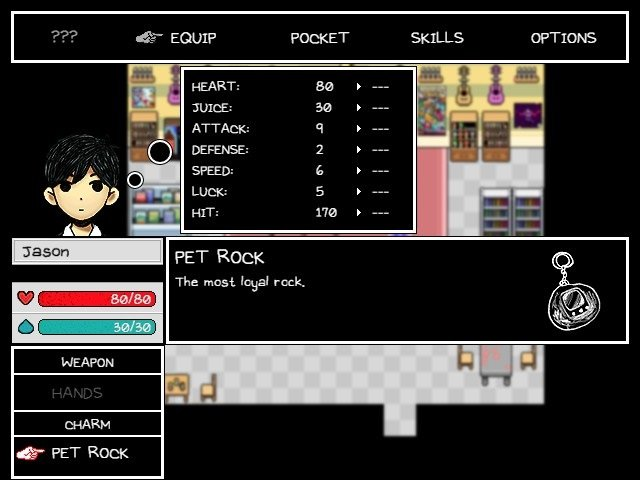 Omori Game Guide Pet Rock Is Most Loyal Rock