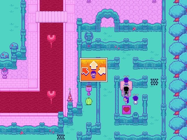 Omori Game Guide Platform Which Direction Sweethearts Laser